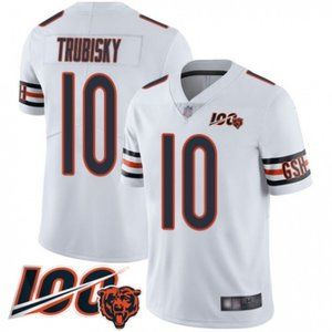 Bears Mitchell Trubisky 100th Season Jersey